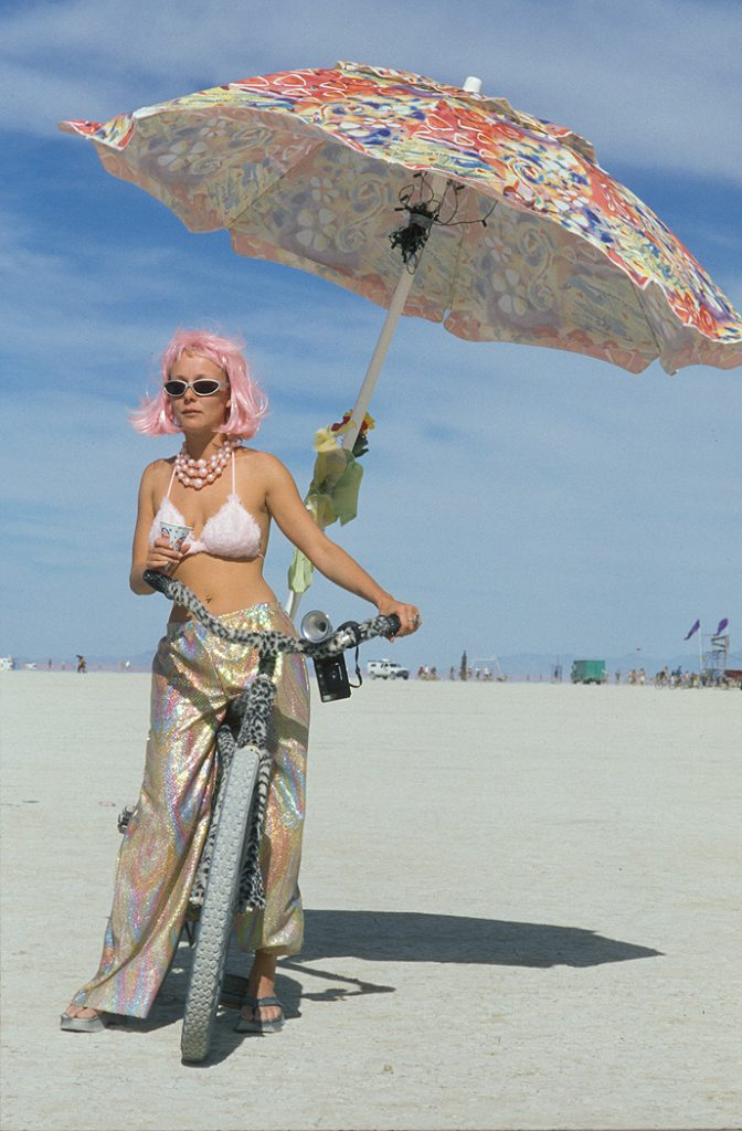 Lincoln Clarkes Photographs: Burning Man Women 1999 - Model 15