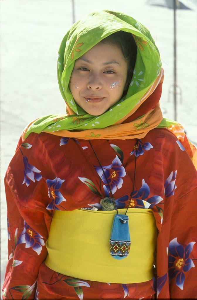 Lincoln Clarkes Photographs: Burning Man Women 1999 - Model 10