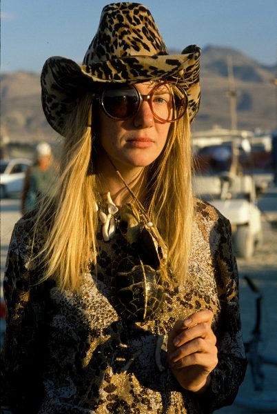 Lincoln Clarkes Photographs: Burning Man Women 1999 - Model 7