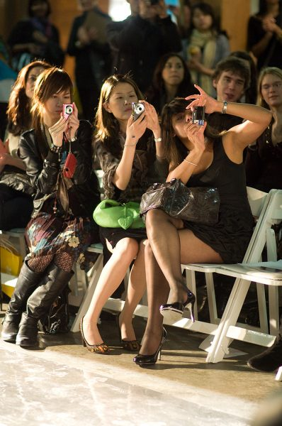Lincoln Clarkes Photographs: Vancouver Fashion Week Audience - Model 4