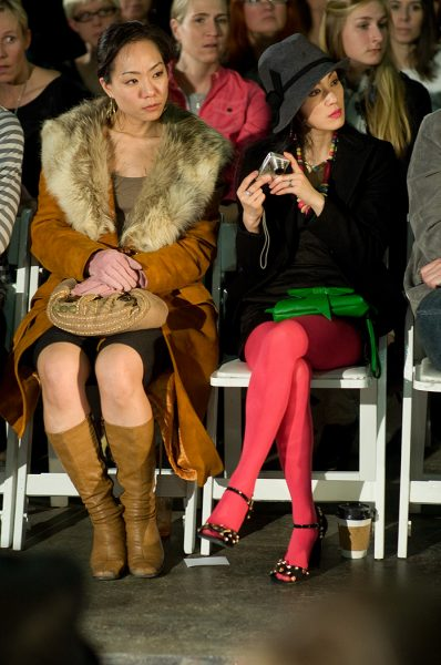 Lincoln Clarkes Photographs: Vancouver Fashion Week Audience - Model 5