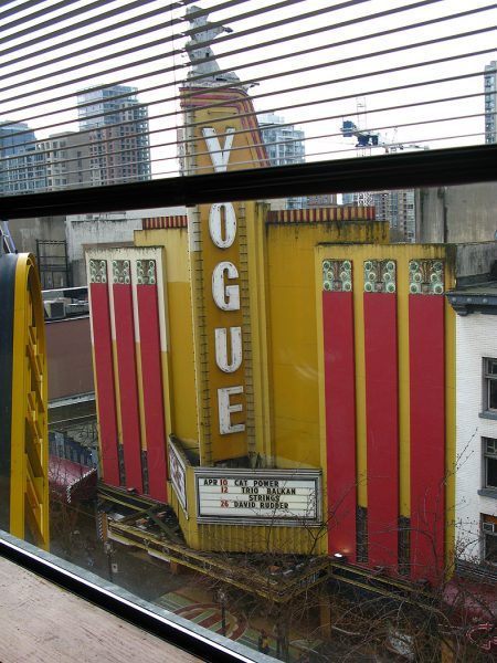 Lincoln Clarkes Photographs: Granville St. looking east, Vancouver 2008