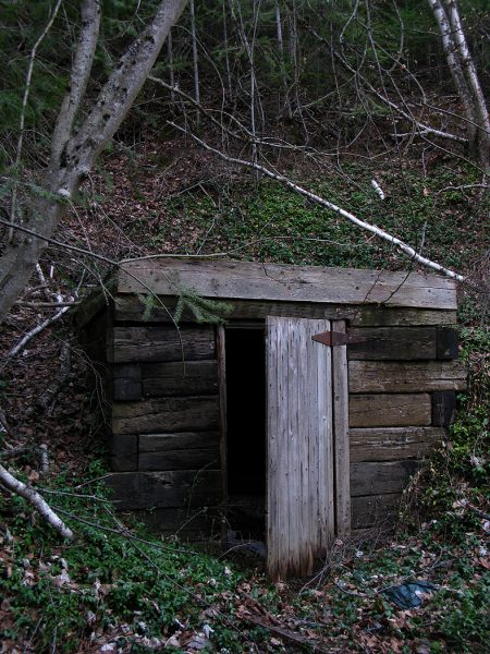 Lincoln Clarkes Photographs: Old Root cellar, Salmon Arm, British Columbia 2008