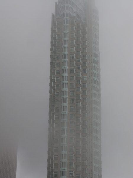 Lincoln Clarkes Photographs: Fog cityscape 1, Toronto 2008
