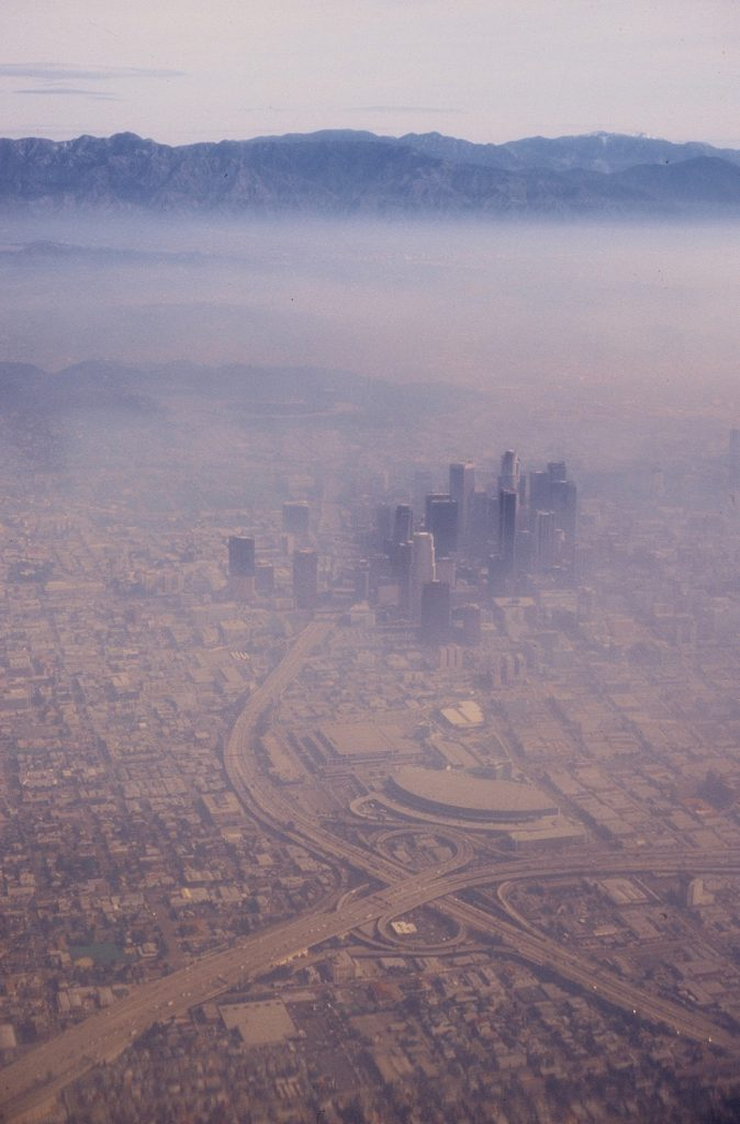 Lincoln Clarkes Photographs: Smog, Los Angeles 1995
