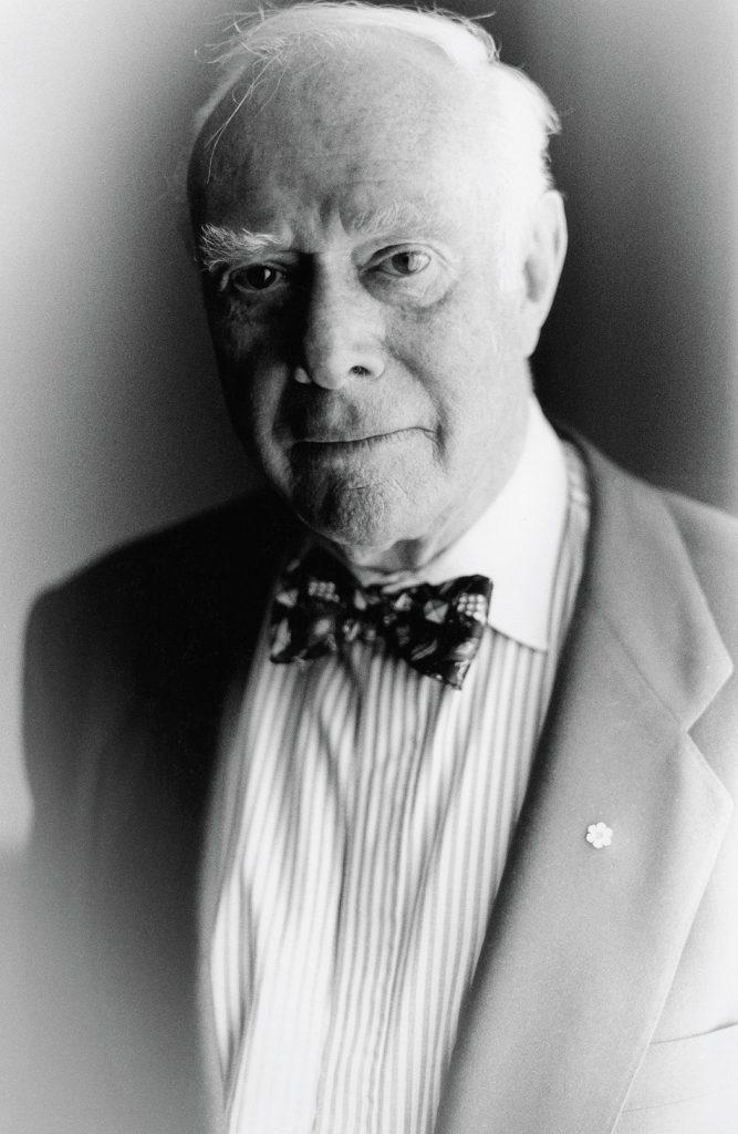Lincoln Clarkes Photographs: Pierre Berton, Vancouver 1997