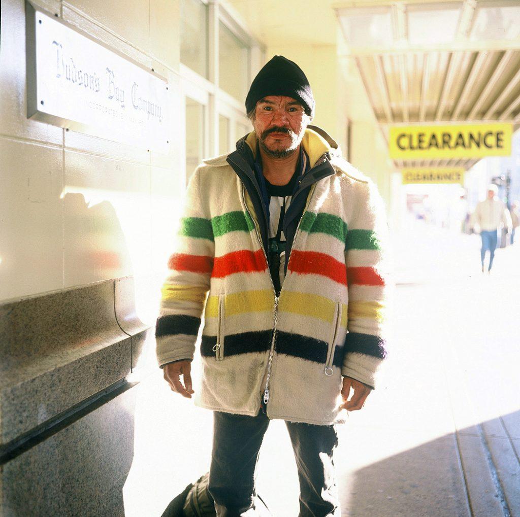 Lincoln Clarkes Photographs: Man named Elvis, Vancouver 2003