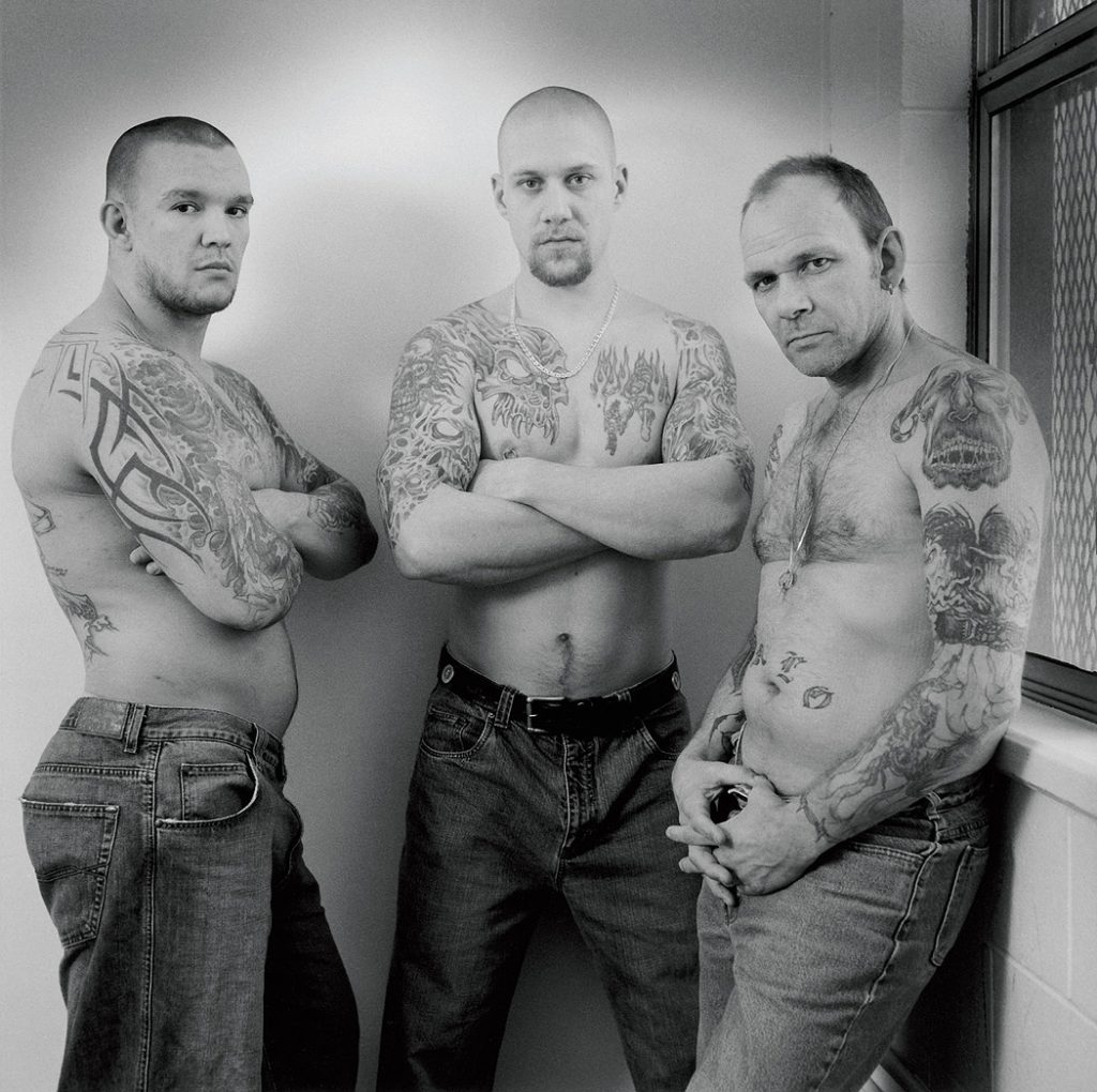 Lincoln Clarkes Photographs: Prisoners in Matsqui Penitentiay, Abbotsford, British Columbia 2005