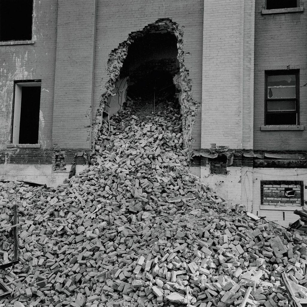 Lincoln Clarkes Photographs: Bricks, Toronto Ontario 1997