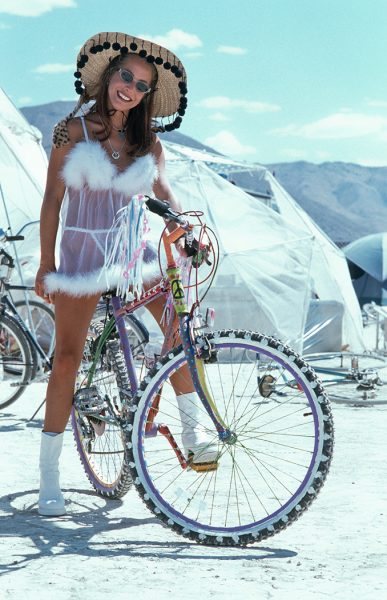 Lincoln Clarkes Photographs: Burning Man Women 1999 - Model 37