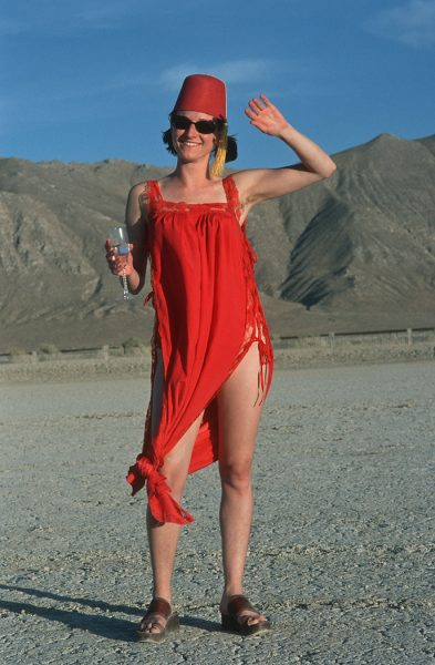 Lincoln Clarkes Photographs: Burning Man Women 1999 - Model 26