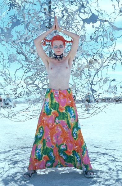 Lincoln Clarkes Photographs: Burning Man Women Nevada 1999