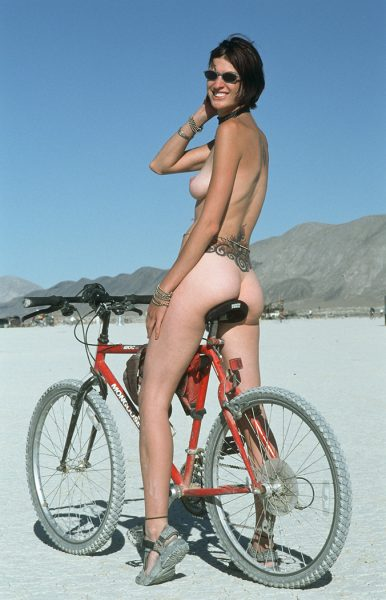 Lincoln Clarkes Photographs: Burning Man Women 1999 - Model 34