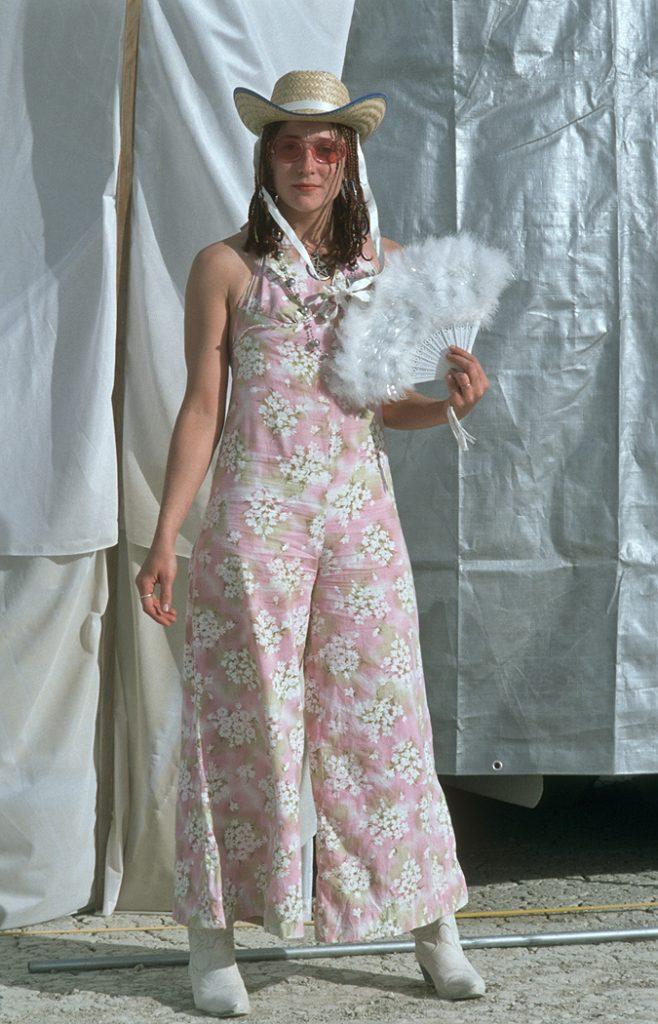 Lincoln Clarkes Photographs: Burning Man Women 1999 - Model 50