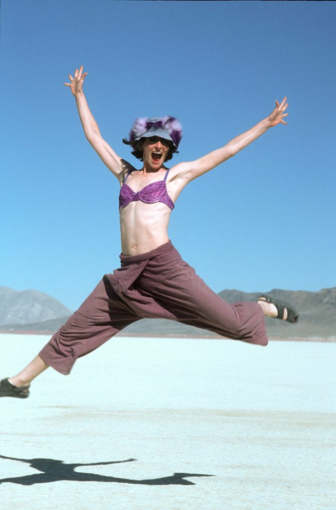 Lincoln Clarkes Photographs: Burning Man Women 1999 - Model 55