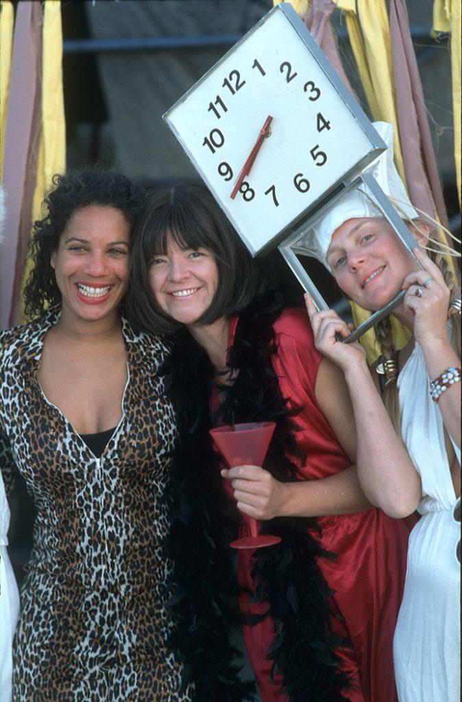 Lincoln Clarkes Photographs: Burning Man Women 1999 - Model 39