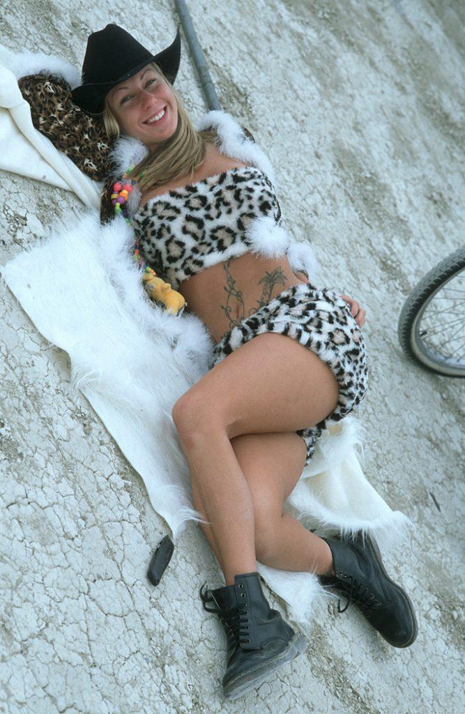 Lincoln Clarkes Photographs: Burning Man Women 1999 - Model 41