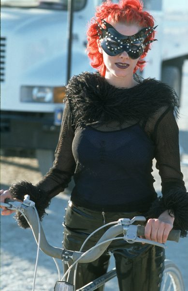 Lincoln Clarkes Photographs: Burning Man Women 1999 - Model 4
