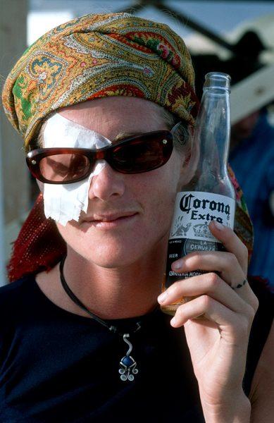 Lincoln Clarkes Photographs: Burning Man Women 1999 - Model 22