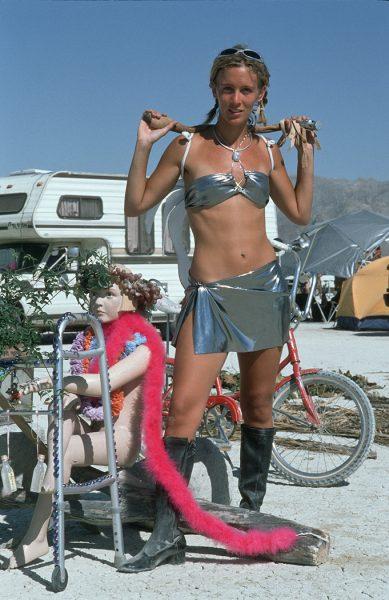 Lincoln Clarkes Photographs: Burning Man Women 1999 - Model 16