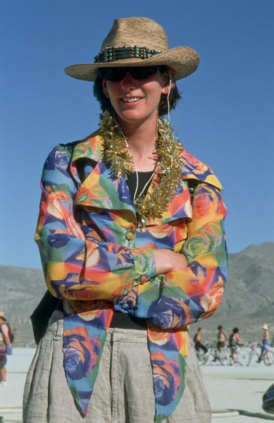 Lincoln Clarkes Photographs: Burning Man Women 1999 - Model 3