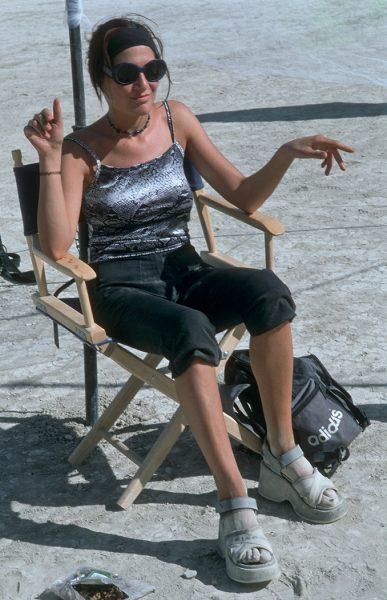 Lincoln Clarkes Photographs: Burning Man Women 1999 - Model 15