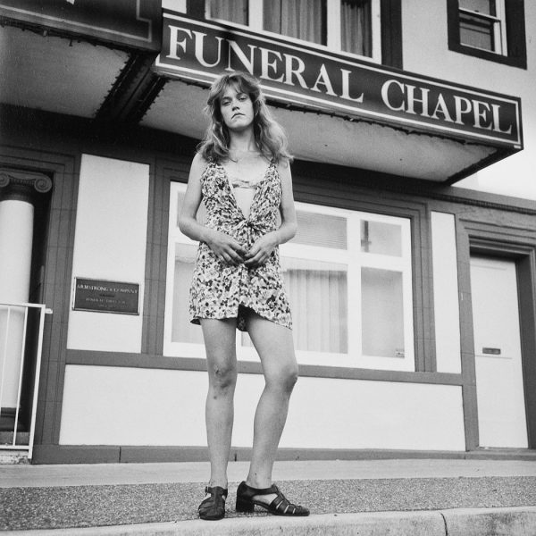 Lincoln Clarkes Photographs: Armstrong Funeral Chapel, 304 Dunlevy Ave. Vancouver, August 8, 1998
