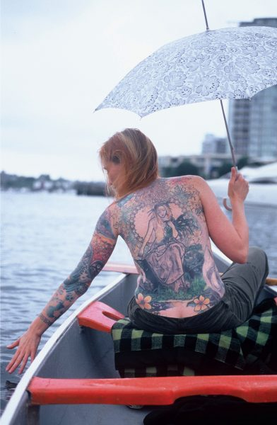 Lincoln Clarkes Photographs: Ophelia, False Creek Vancouver 2005