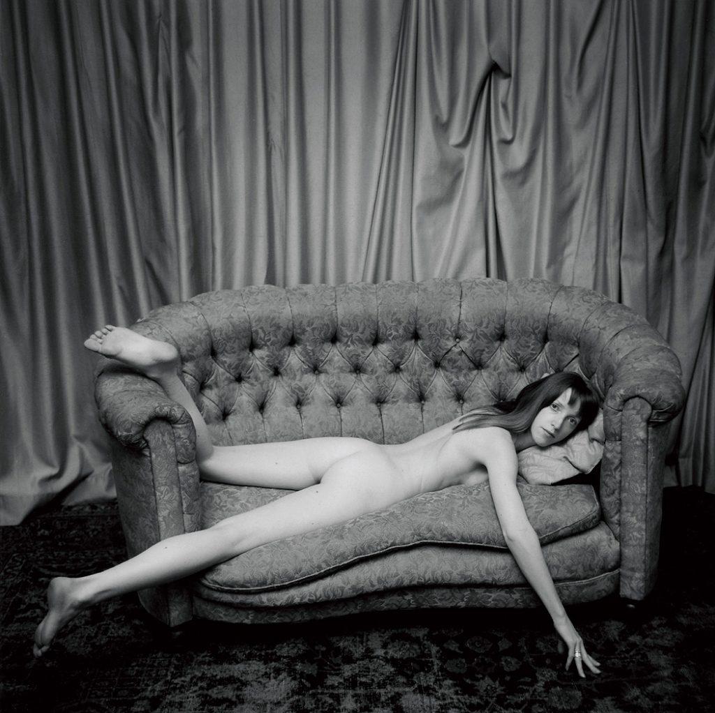 Lincoln Clarkes Photographs: Jane, West Pender St. studio, Vancouver 1993