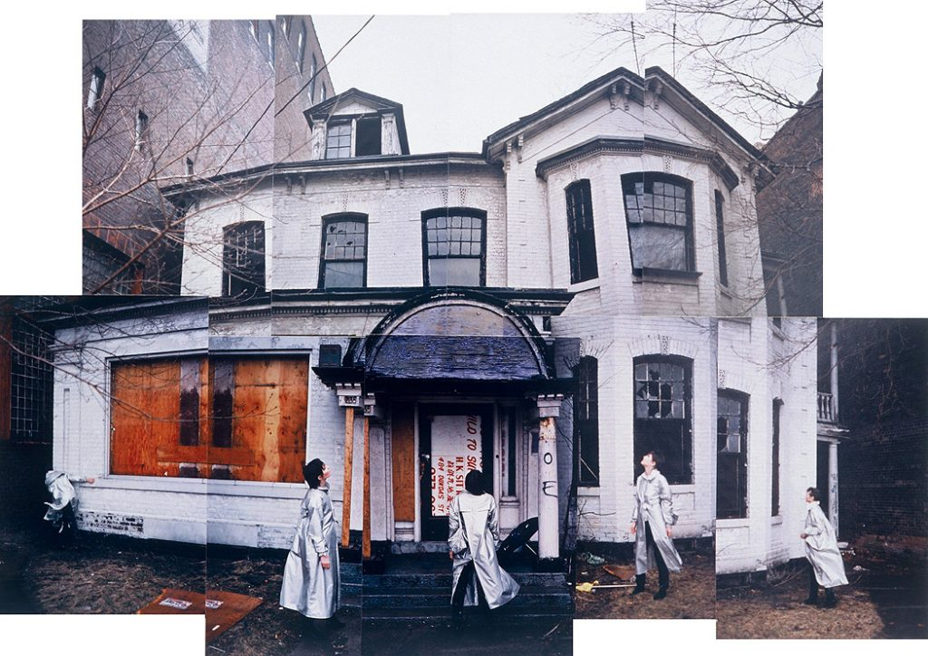 Lincoln Clarkes Photographs: Old Purple Palace, Spadina Ave. Toronto 1985