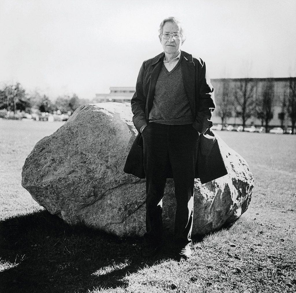 Lincoln Clarkes Photographs: Noam Chomsky, Vancouver, 1997