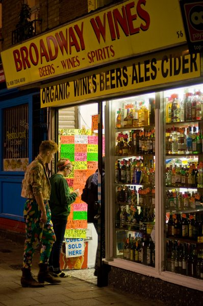 Lincoln Clarkes Photographs: Booze, Old Street