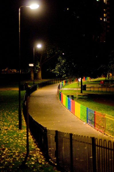 Lincoln Clarkes Photographs: Children's Park, London Fields