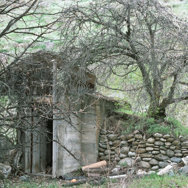 Lincoln Clarkes Photographs: Root cellar, Lillooet 1997