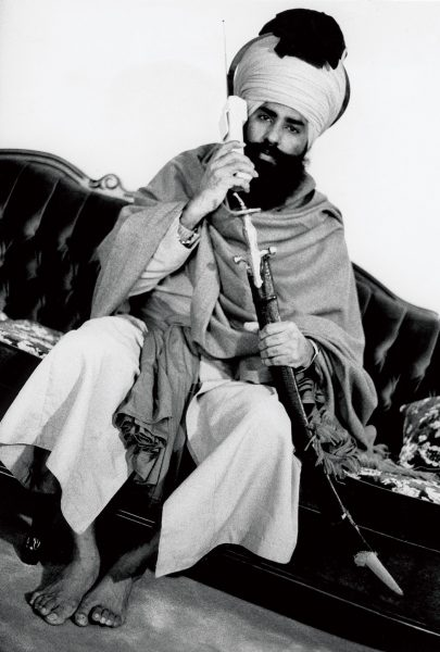 Lincoln Clarkes Photographs: Talwinder Singh Parmar, prime suspect in the Air India bombing of Flight 182, 1987