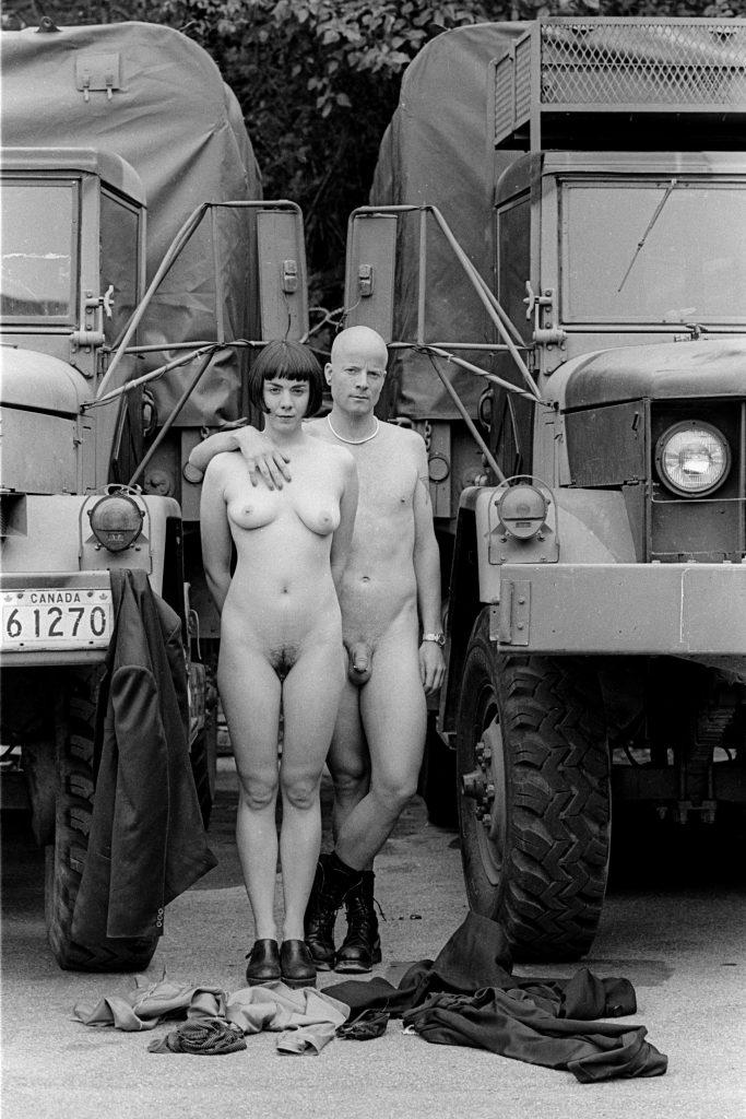 Lincoln Clarkes Photographs: Christine Taylor & Tom Comet, Vancouver 1996