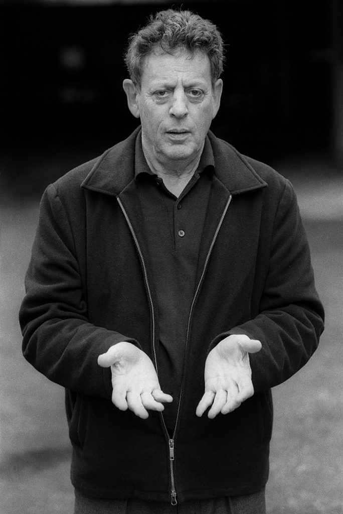 Lincoln Clarkes Photographs: Philip Glass, Vancouver 2004