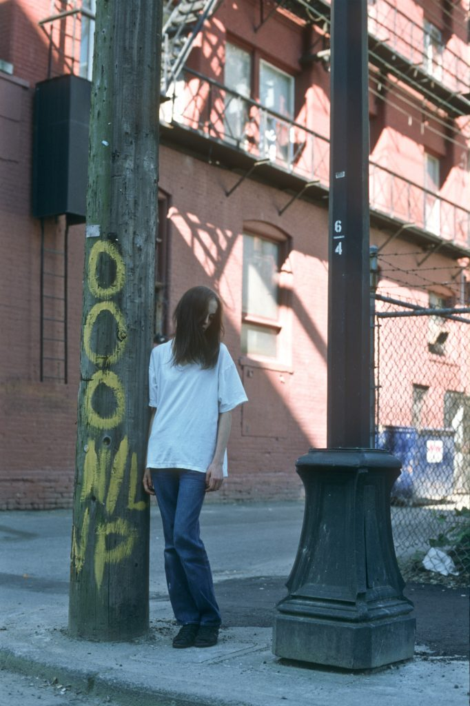 Lincoln Clarkes Photographs: 16 year old homeless crack addict and prostitute, Vancouver 1999