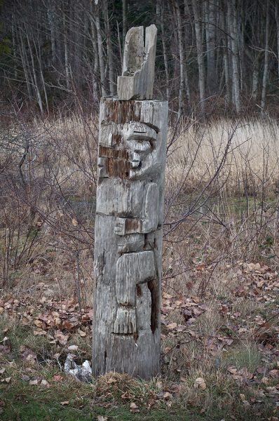 Lincoln Clarkes Photographs: Native art, Semiahmoo Reserve, British Columbia 2010