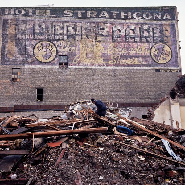 Lincoln Clarkes Photographs: Hotel Strathcona, Vancouver 2006