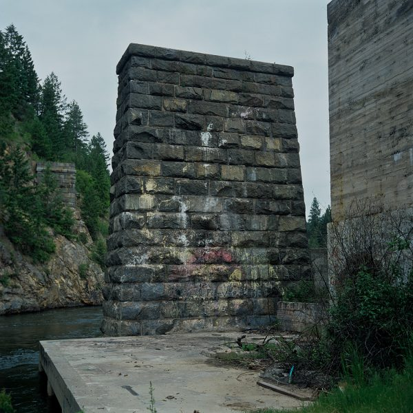 Lincoln Clarkes Photographs: Old railway bridge, Grand Forks, British Columbia 2005