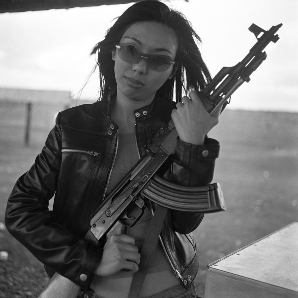 Lincoln Clarkes Photographs: 3. Texas women with their guns, Houston to Austin 2004