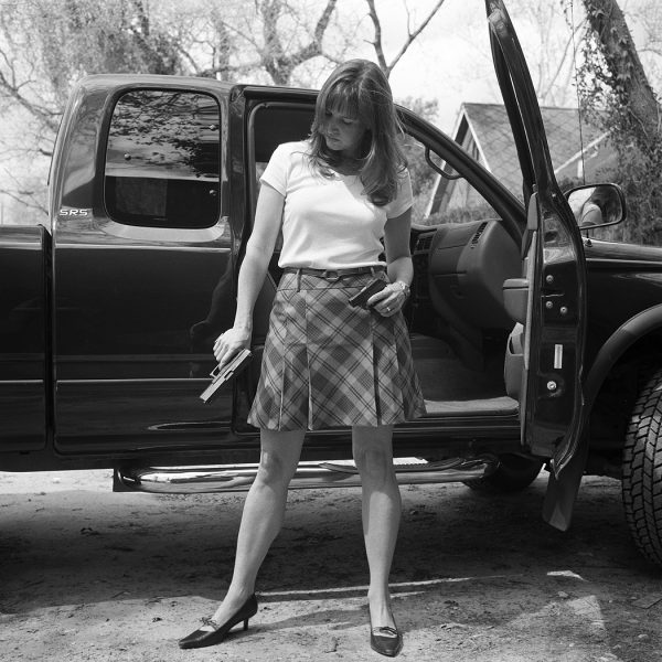Lincoln Clarkes Photographs: 2. Texas women with their guns, Houston to Austin 2004