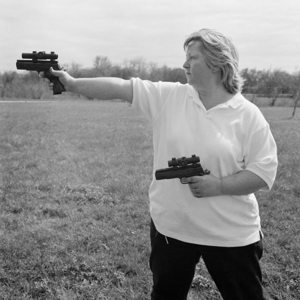 Lincoln Clarkes Photographs: 8. Texas women with their guns, Houston to Austin 2004