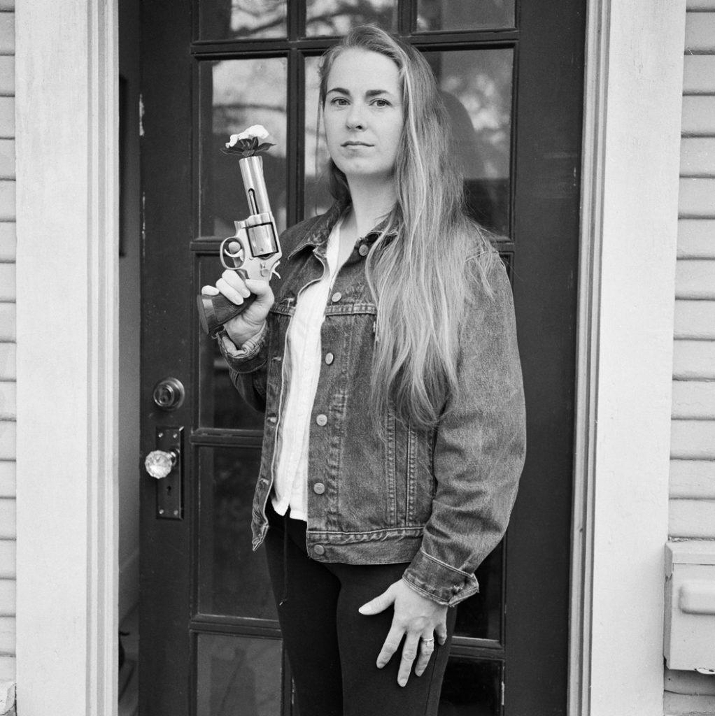 Lincoln Clarkes Photographs: 11. Texas women with their guns, Houston to Austin 2004