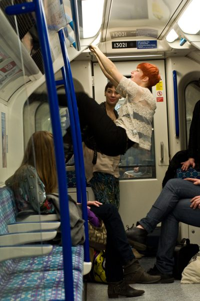 Midnight on the London Underground, 2011