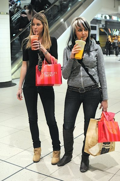 Lincoln Clarkes Photographs: Mall Girls, Toronto 2012