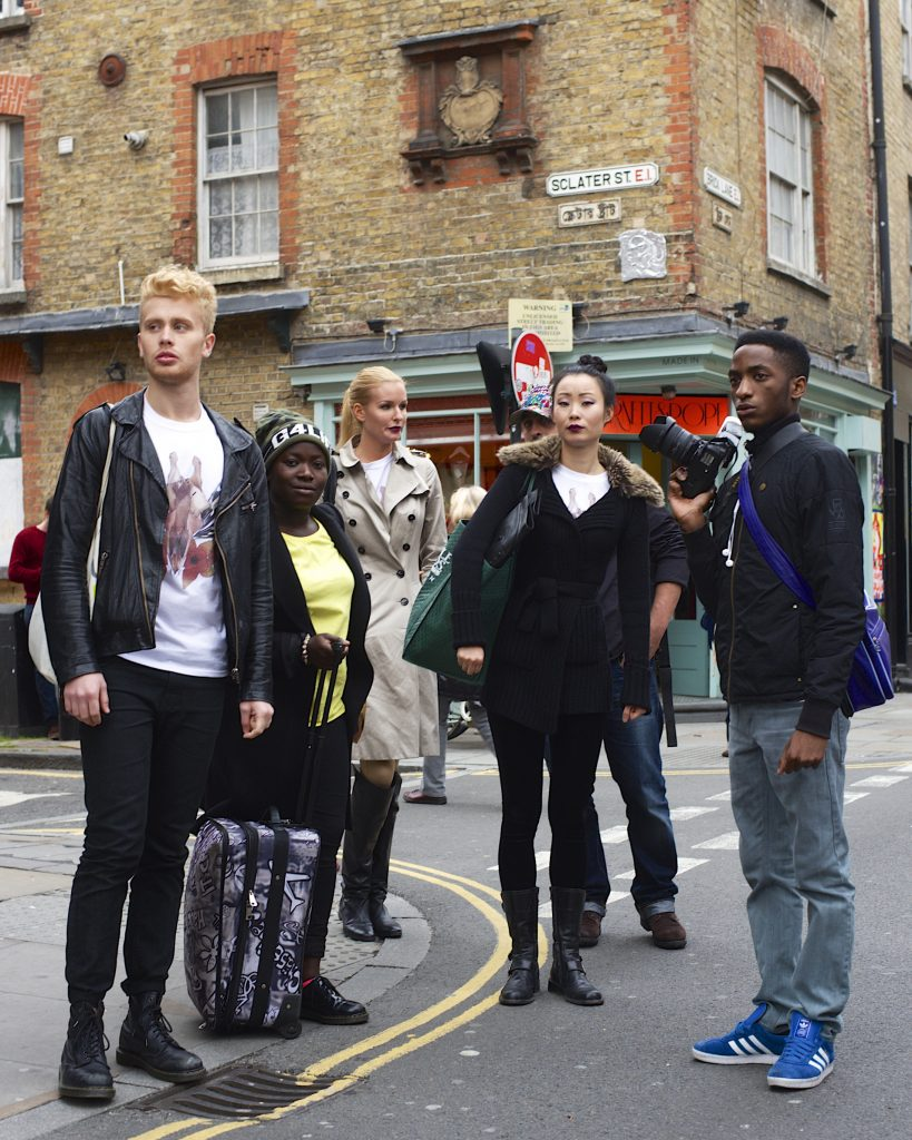 Lincoln Clarkes Photographs: Fashion Crew, London 2013