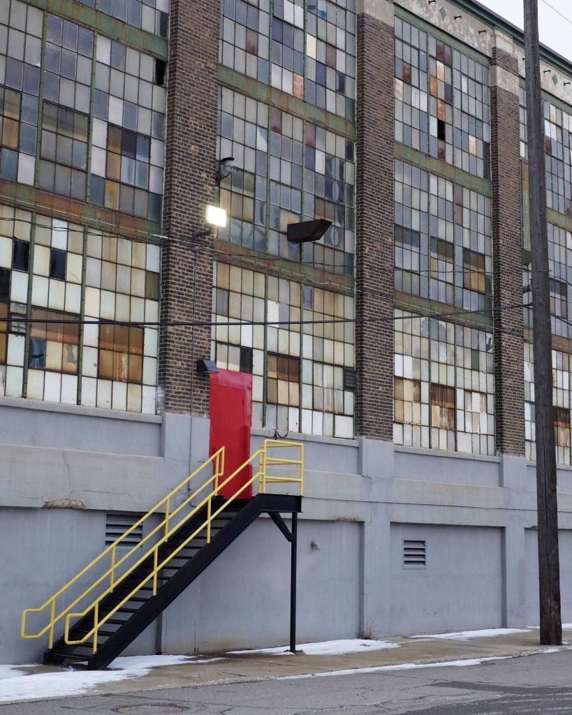 Lincoln Clarkes Photographs: High ceilings, low rent. Detroit 2013