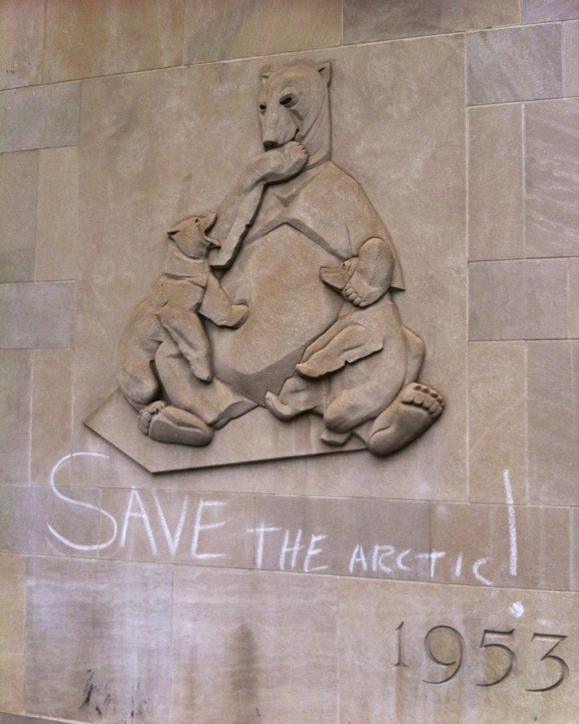Lincoln Clarkes Photographs: Save the Arctic, Toronto 2014